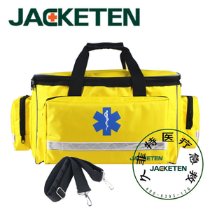 JACKETEN Medical First Aid Kit-JKT015 Ambulance Bag Rescue Earthquick Survival Kits The Band Empty Nurse First Aid Kit Bag