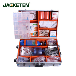 JACKETEN Aerometal Portable First Aid Kit-JKT039 The Doctor's Briefcase First Responder Kit