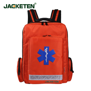 JACKETEN Multi-Function Medical First Aid Kit JKT029Large thickening Waterproof EMS Medical First Aid Kit Bag Emergency Bag