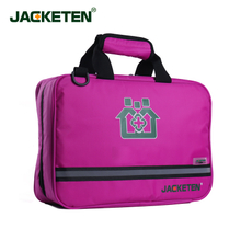 JACKETEN Multi-Function Car First Aid Kit-JKT034 Portable Thickening Waterproof Portable Household Nylon First Aid Kit Bag Medical Bag Nursing Bag