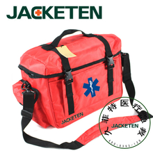 JACKETEN The Pre-hospital Nursing First Aid bag-JKT024 First AId Kit at Work Large Ambulance Storage Medical First Aid Kit Ambulance Bag